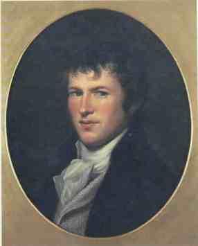 Uno de los pocos retratos de Humboldt antes de partir hacia América